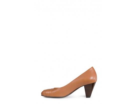Pantofi camel din piele naturala model 131