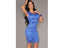Rochie Backless BLUE