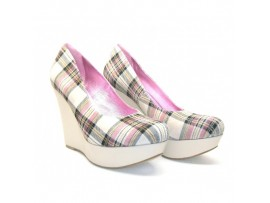 Pantofi kilt beige Amalia