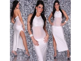 Rochie SexyWhite with Strass